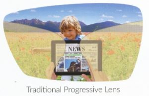 traditional progressive lens