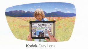 Kodak easy lens